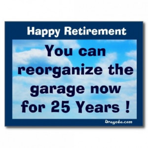 Funny Retirement Postcard