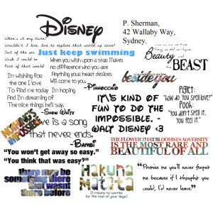 collage, disney, quotes, snow white, walt disney