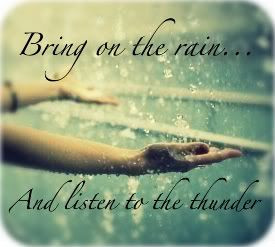 love thunderstorms - love the feel of rain, the smell of it, and the ...