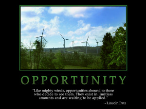 motivational wallpaper on opportunity like mighty winds opportunities ...