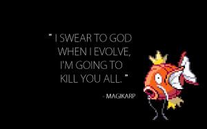 pokemon quotes magikarp hilarious 1280x800 wallpaper Anime Pokemon HD