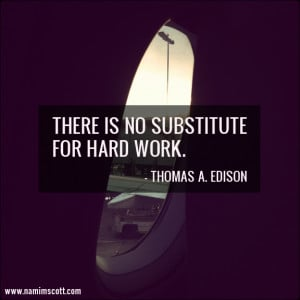 Quote of the Week: Hard Work
