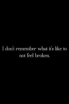 its how i feel i feel like i m alone in the world where nobody cares ...