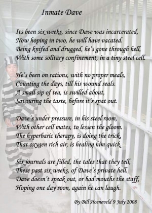Poetry For Inmates