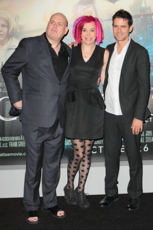 Andy Wachowski Lana And Tom Ty Cloud Atlas Los Angeles