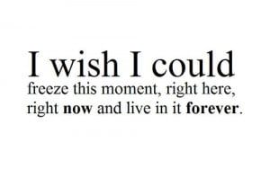 wish i could