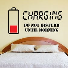 ... Do not disturb Wall Sticker Wall Quote Art Decal Teenager Bedroom w132
