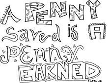 Benjamin Franklin Quotes Coloring Pages