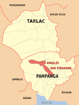 Kapampangan is also understood in some barangays of Bulacan and Nueva ...