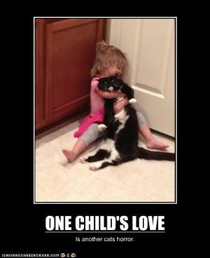 Very Demotivational: One Child's Love…