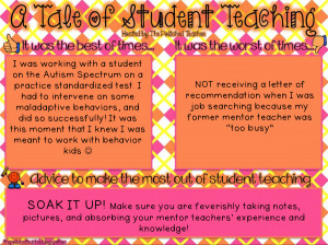 Thank You Teacher Quotes From Students Advice from a former student