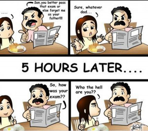 before exam after exam school college university student funny pics