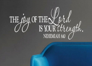 "MG: 6-18 ""The Joy of the Lord Is Your Strength"" , by Joseph Scott ..."