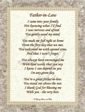 Father In Law Birthday Quotes