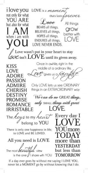 In-Love-Quotes-Transfers-Kaisercraft-Black-Rub-Ons-Scrapbooking-Craft ...