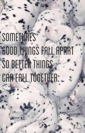 Sometimes #quote #breathing #dalmatian