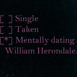 The Infernal Devices #WilliamHerondale