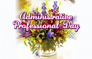 Happy Admin Professional Day Wallpaper