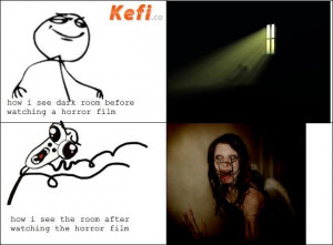 Horror Movie Funny Quotes