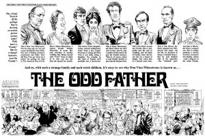 MAD Magazine Godfather Parody Oddfather Splash Mort Drucker Larry ...