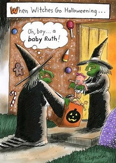 Witch humor!