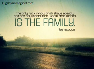 family realtionships makes Life stronger