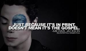 Michael Jackson MJ Quotes