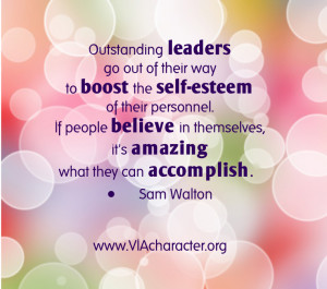 One way to exercise your own leadership strength is to actively look ...