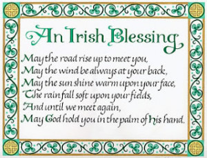 Sharing Irish Blessings (from the NET)