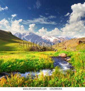 Beautiful Mountains Scenery