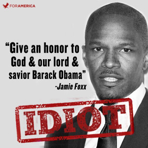 "Jamie Foxx Calls Barack Obama ""Our Lord and Savior"" at Soul Train ..."