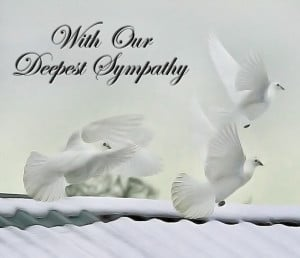 Deepest Sympathy Quotes Loved Ones Photos