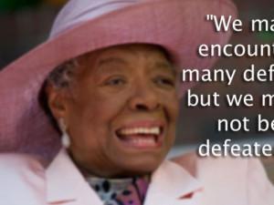 PHOTOS: Maya Angelou's 10 best quotes