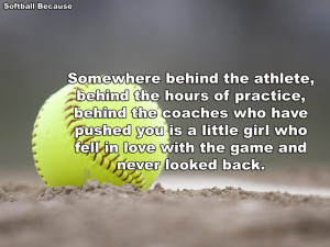 Softball Quotes HD Wallpaper 3
