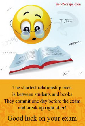 good luck quotes – exams pictures greetings images for facebook and ...