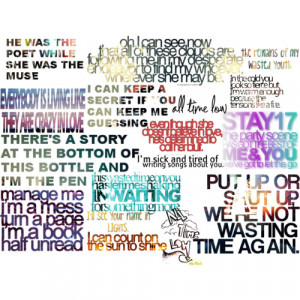 all time low lyrics quotes all time low lyrics