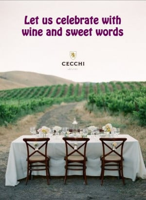 Brunch wine quote for a bridal shower!
