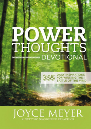 POWER THOUGHTS DEVOTIONAL by Joyce Meyer Book Review
