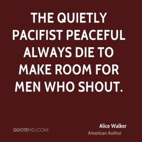 Pacifist Quotes
