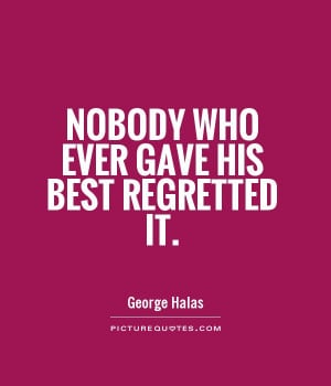 George Halas Quotes