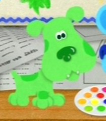 green puppy tv show blue s clues franchise blue s clues