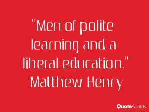 Men of polite learning and a liberal education Wallpaper 3