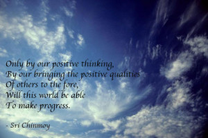 Positive Thinking Quotes From Famous People