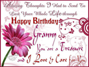 Birthday Wishes for Grandmother - Birthday Images, Pictures