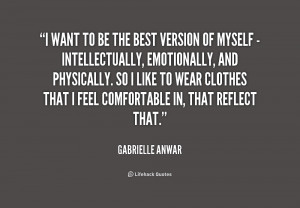 Quotes By Gabrielle Anwar Sayings And Photos Picture