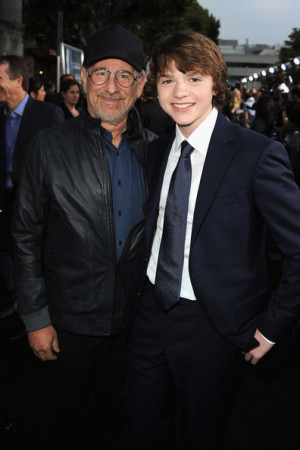 Steven Spielberg. The World Premiere of War Horse Photo credit: PNP ...
