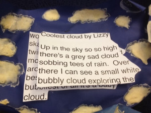 Cloud Personification Poetry