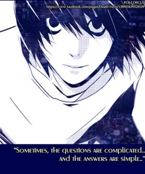 Quotes, Death Note Quotes, Note Animal, Animal Quotes, Anime Quotes ...