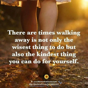 Walking away is one of the best refusal skills! Just say no, walk away ...