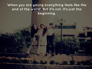 life young feeling mood quote photography quotes photo sayings marian ...